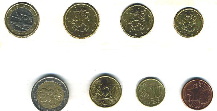 купить монеты евро центы